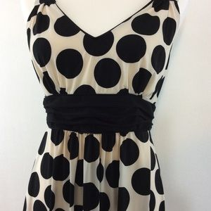 Cato Black/White polka dot dress Size Medium